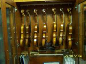 How a violin is produced