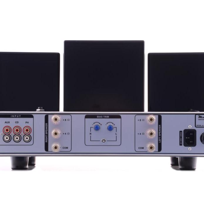 Mu-4 evo tube ıntegrated amplifier with remote controller