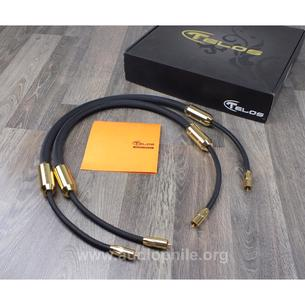 Telos audio design - gold signature reference ınterconnect kablo seti