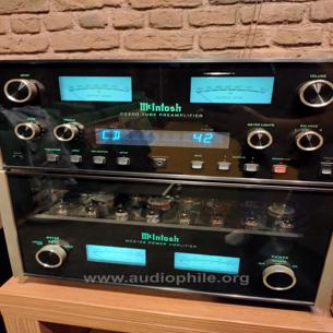 Mcintosh pre power lambalı takim