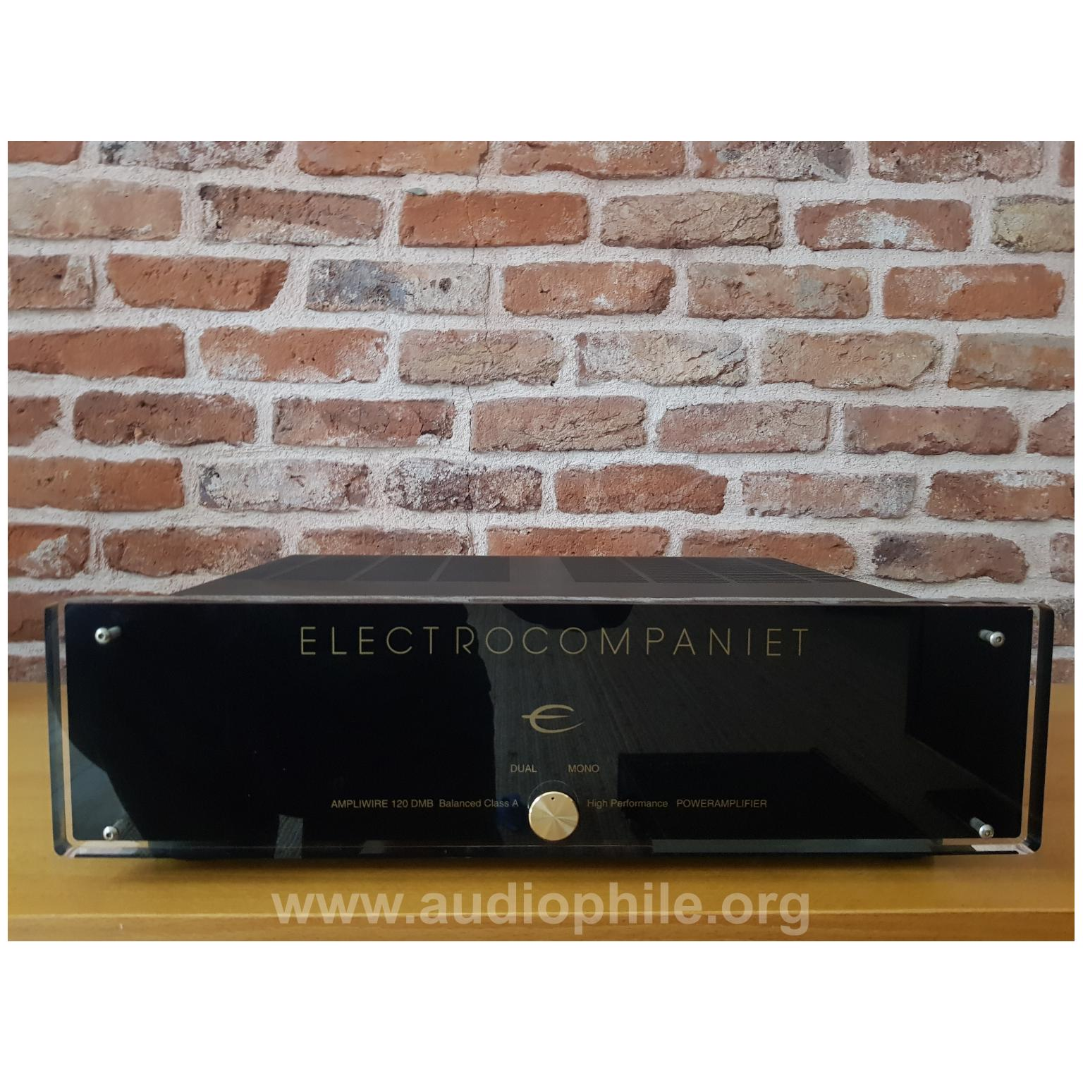 Electrocompaniet 120 dmb balanced class a power amplifier