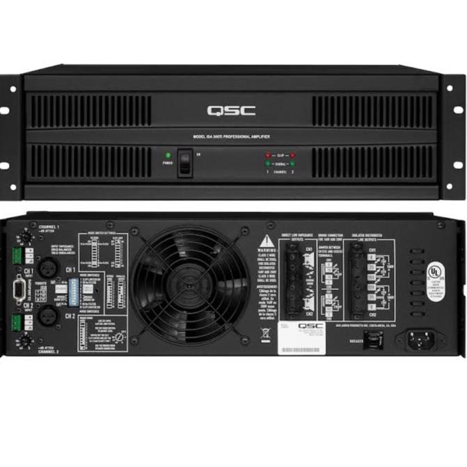 Qsc isa 300ti power anfi