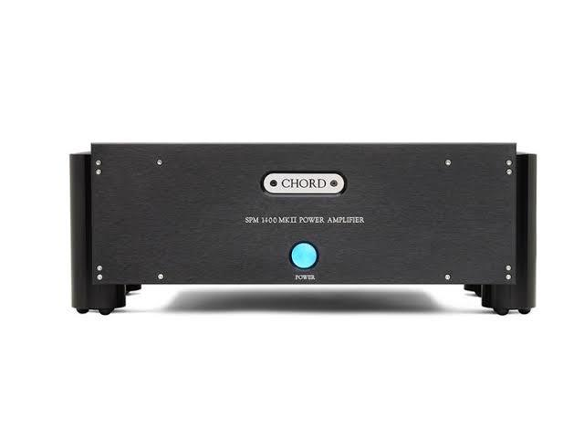 Chord electronics spm1400 mkii amplifiers (black)