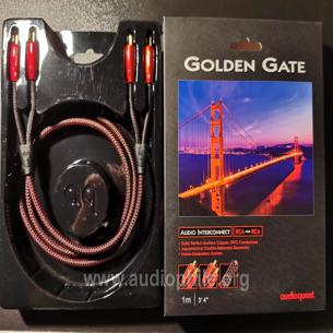 Audioquest golden gate rca 1 mtr.