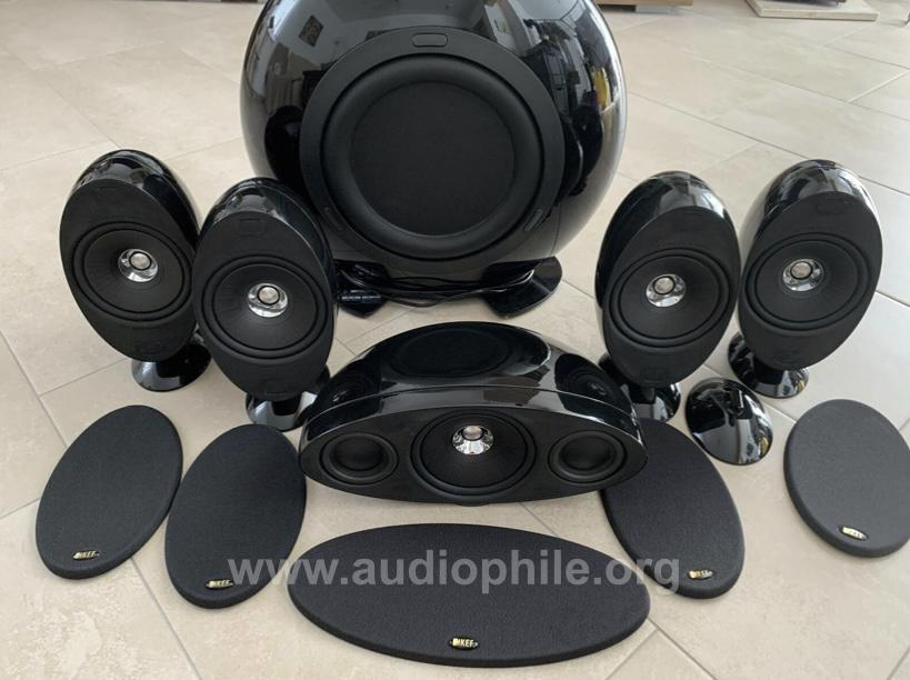 Kef kht3005 5.1 home theater system