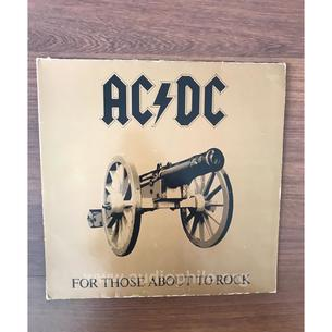 Ac/dc - for those about rock (we salute you) 1981 almanya basımı