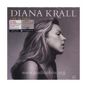 Live in paris from diana krall180g 45rpm 2lp