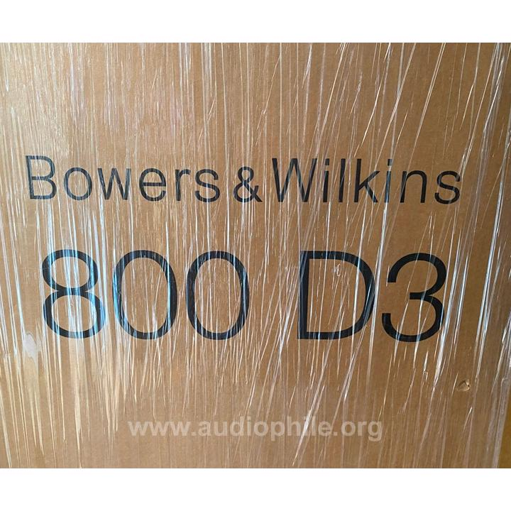 Bowers & wilkins 800 d3 floorstanding speakers