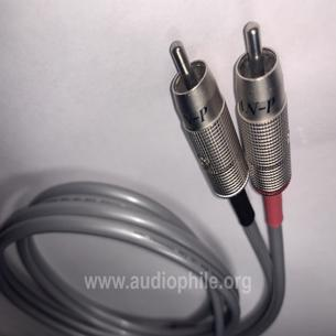 Audio note an-p vx %99.99 silver rca cable 1metre