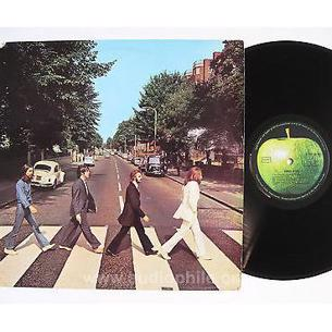Original the beatles 1969 uk abbey road apple 33 lp album
