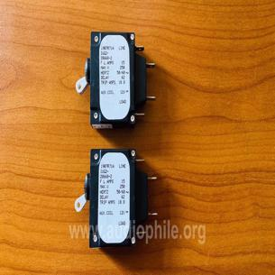 Airpax circuit breakers 2 adet