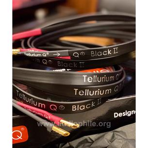 Tellurium q black ıı 2 speaker cable 2mt pair