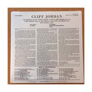 Cliff jordan – blue note 1565 plak
